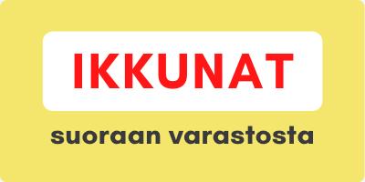 Ikkunat suoraan varastosta - Ovikauppa.com