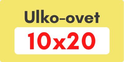 Ulko-ovet 10x20 - Ovikauppa.com