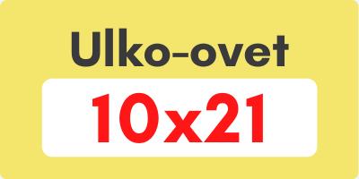 Ulko-ovet 10x21 - Ovikauppa.com