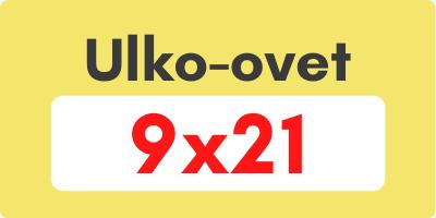Ulko-ovet 9x21 - Ovikauppa.com