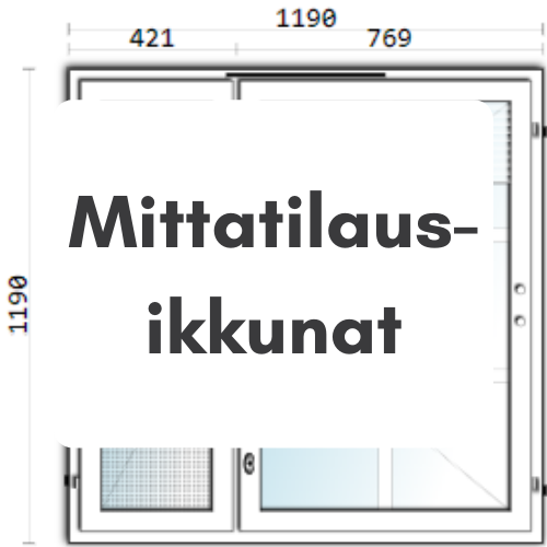 Mittatilaus-ikkunat - Ovikauppa.com
