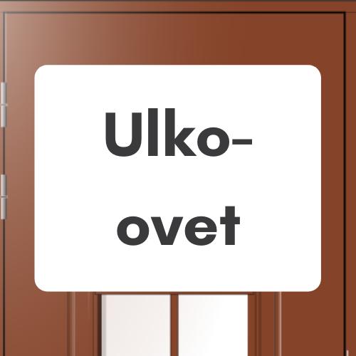 Ulko-ovet - Ovikauppa.com
