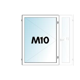 HIT-Nordic ALU M10 avattava ikkuna - Ovikauppa.com