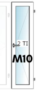 HIT-Nordic ALU M10 tuuletusikkuna - Ovikauppa.com