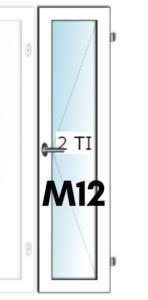 HIT-Nordic ALU M12 tuuletusikkuna - Ovikauppa.com