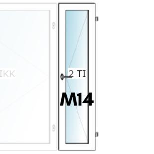 HIT-Nordic ALU M14 tuuletusikkuna - Ovikauppa.com