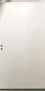 Varaston ovi Edux Etu-Lassi 12x21 oikea valkoinen - Ovikauppa.com
