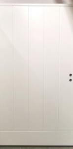 Varaston ovi Edux Etu-Lassi 12x21 vasen valkoinen - Ovikauppa.com