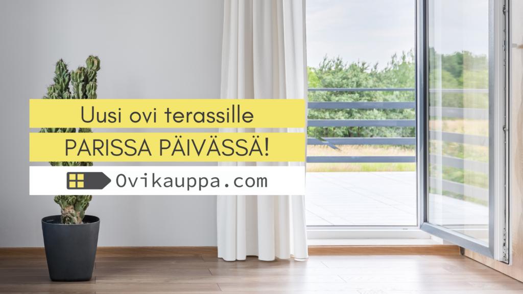 Parvekeovi parissa päivassä - Ovikauppa.com